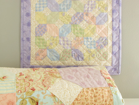 Coming Home Whispers in the Wind Sandy Gervais Mini Quilt with Original