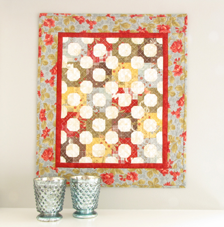 All in the Family Moda Roman Holiday Mini Quilt