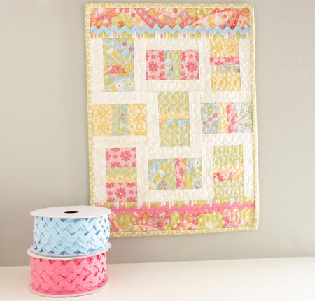 Little Lady Lizzie Collection Mini Quilt
