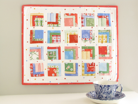 Square 1 Mini Quilt Susan Branch