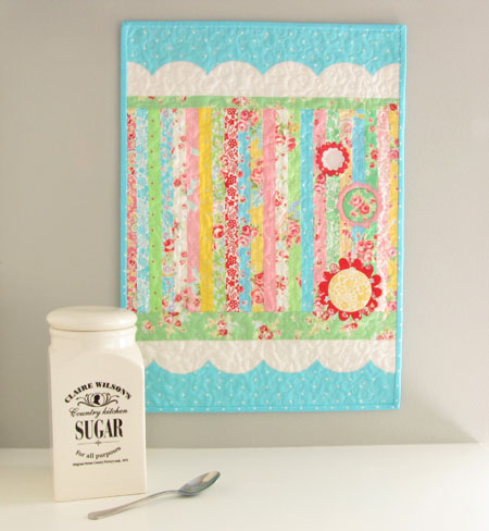 Sugar Rush Flower Sugar Lecien Mini Quilt